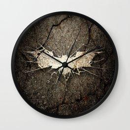 Batmann Logo Wall Clock