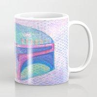 boba fett Mugs featuring Boba Fett by Kazuki Yukio