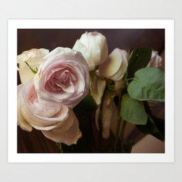 Melancholy Rose Art Print
