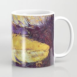 Gold Feathers Coffee Mug