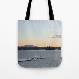Lake and mountain Tote Bag