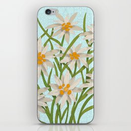 Edelweiss iPhone Skin