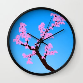 A sign of Spring Wall Clock