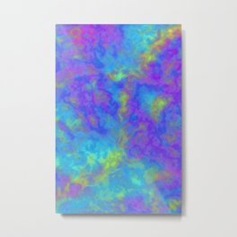 Psychedelic Mushrooms Effects Metal Print