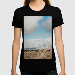 Running Reservation Horses T-shirt
