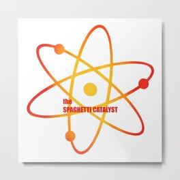 the Spaghetti Catalyst - Season 3 Episode 20 - the BB Theory - Sitcom TV Show Metal Print