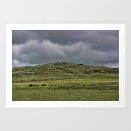 Cox Tor, Dartmoor, Devon Art Print