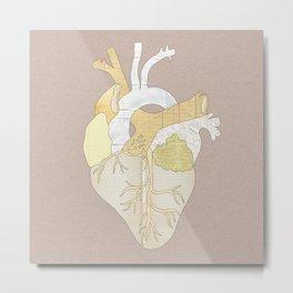 A Heart Unwritten Metal Print