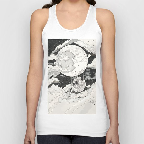 Moon Angel Unisex Tank Top