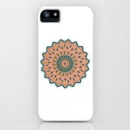 sand symetric mandala  iPhone Case