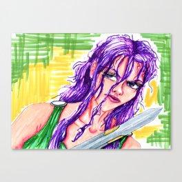 Halie the Nereid Canvas Print