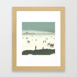 The Ice Rink Framed Art Print