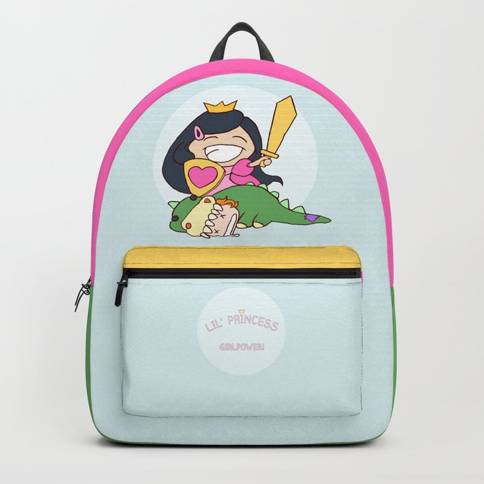 lil' Princess Girlpower!!! Backpack