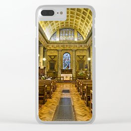 Inside St Lawrence Mereworth Clear iPhone Case