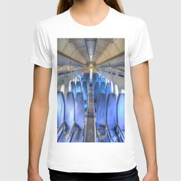 Russian Airliner Seating T-shirt