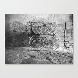 Italian Pram Canvas Print