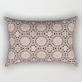 Pale Dogwood Star Rectangular Pillow
