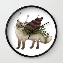 Catsnail I Wall Clock