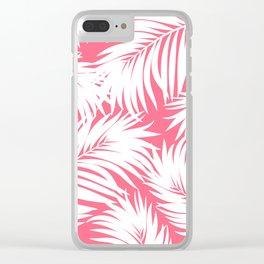 Palm Tree Fronds c'est parfait Hawaii Tropical Décor Clear iPhone Case