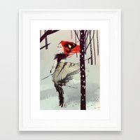 ygritte Framed Art Prints featuring Lightning • the hunter butterfly by max rambaldi (aka Digital Makeup)