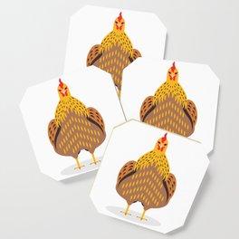 Cute Chicken Coaster
