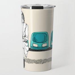 budgie wait Travel Mug