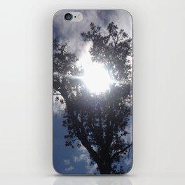 Sun heart tree iPhone Skin