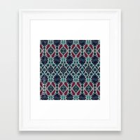 persian Framed Art Prints featuring Persian Feel by lalaprints