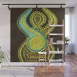 A Perfect Eight Hourglass Figure Wall Mural