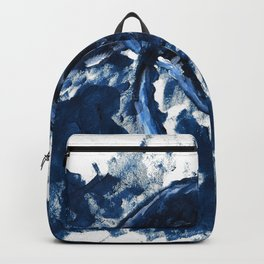 Humpback whale Blue Backpack