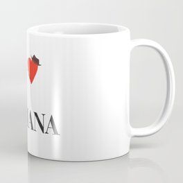 I heart Indiana Coffee Mug