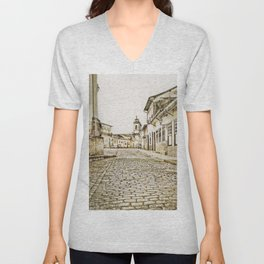 Historical city Unisex V-Neck