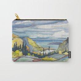 Canadian Landscape Watercolor Painting Franklin Carmichael Art Nouveau Carry-All Pouch