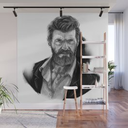 Old man Logan no.01(Hugh jackman) Wall Mural