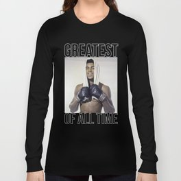 """Muhammad """"Greatest of All Time"""" Ali Long Sleeve T-shirt"""