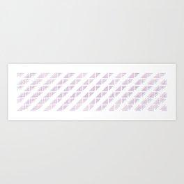straight.dots Art Print