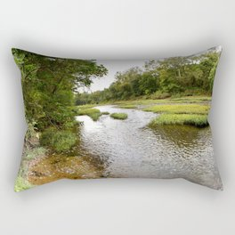 Camped at Briar Bluff on the Buffalo River, No. 5 Rectangular Pillow