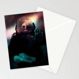 PORTRAIT - Heavy Metal Thunder Artwork Stationery Cards