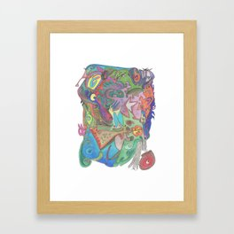 Drawing #50 Framed Art Print