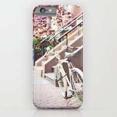Bike alongside Stoops in the South End, Boston iPhone 6s Slim Case