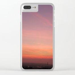 Dawn Blush Clear iPhone Case