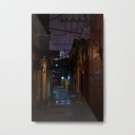 Lilac alley Metal Print