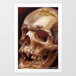 Southold Skull Art Print