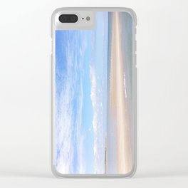 Cape Cod Sand Bar Clear iPhone Case