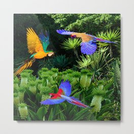 Jungle Paradise Metal Print