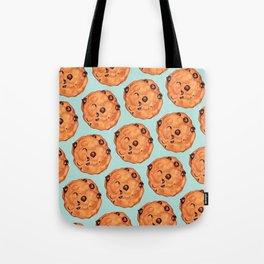 Cookies Pattern - Blue Tote Bag
