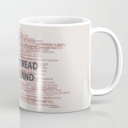 Can't read my mind Coffee Mug