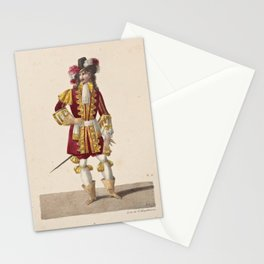 Aumer Jean M  ELe duc de Vendome Mr Aumer dans Les pages du duc de Vendome ballet pantomime en acte Academie Rle de musiqueAdditional Pages du duc de Vendom_1 Stationery Cards