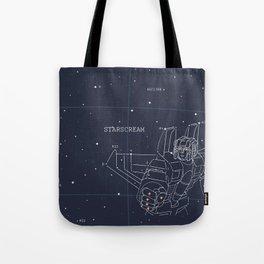 Starscream Star Chart Tote Bag