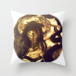 Senorita Throw Pillow